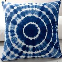 Cotton Tie N Die Cushion Cover