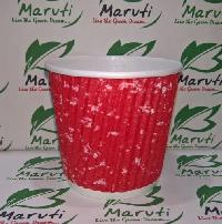 150ml Disposable Ripple Paper Cups