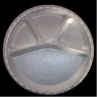 4 Compartment Round Plate