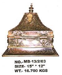 Metal Jewelry Box  - 03