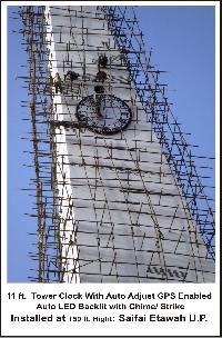 Tower Clock GPS bace