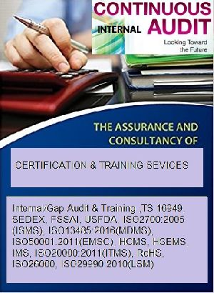 Internal Audit And Training Services