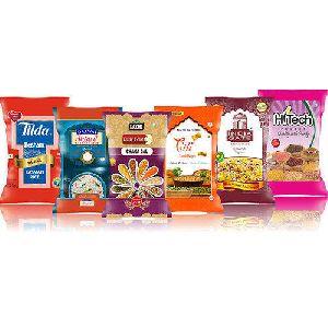 Rice Bopp Multicolor Printed Laminated Pp Woven Bag