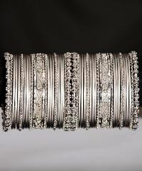 fancy jewellery metal bangles