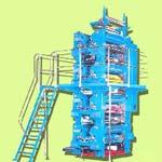 4 Hi-Tower Offset Printing Machine