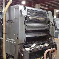 Sheet Fed Offset Printing Machine (Heidelberg SM 102 V)