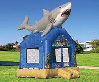 Feeding Frenzy Giant Shark Bounce House