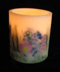 Designer Hurricane Candles