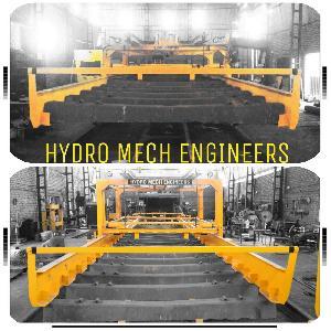 automatic hydraulic concrete sleeper laying machine
