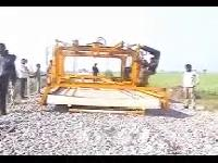 HYDRAULIC SLEEPER LAYING MACHINE