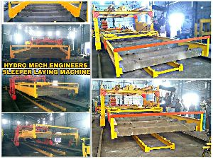 Mechanized Sleeper Laying Machine Slm