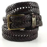 Hand Woven Leather Belts
