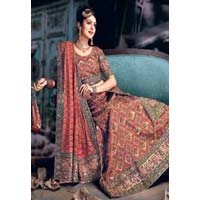 Lehenga Choli (with Abstract Embroidery)