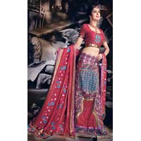 Lehenga Choli (with Resham Embroidery)