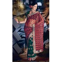 Net Wedding Saree
