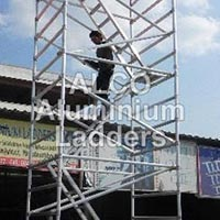 Aluminium Double Width Mobile Tower