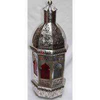 Moroccan Stainless Steel Lantern