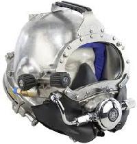 steel divers diving helmet
