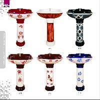 Hand craft washbasin pedestal