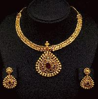 designer indian real gold jewellery