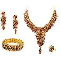 Indian Designer Antique Gold Jewelry