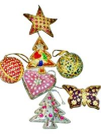 Embroidered Christmas Decoration