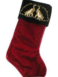 Embroidered Christmas Stockings
