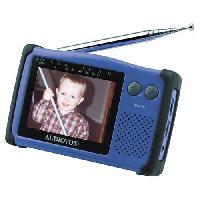 Audiovox Tft3500 3.5  Handheld Tv With Adapter