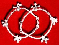 Children Silver Anklets