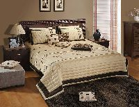 Designer Silk Bed Cover