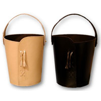 Leather Baskets