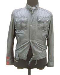 Mens Formal Leather Jacket