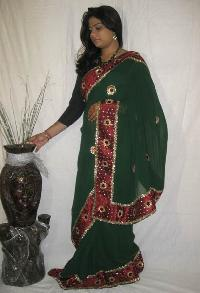Sequins Work Sarees