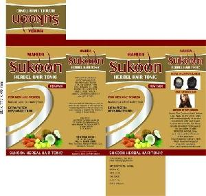 Sukoon Herbal Hair Tonic