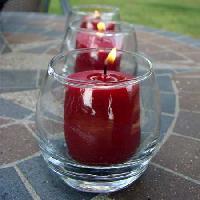 Cylinder Shaped Votive Candles