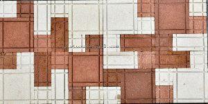 Linear Pattern Stone Mosaics Tiles