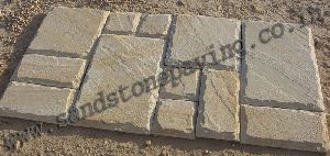 Mint Sandstone Pavers Tiles