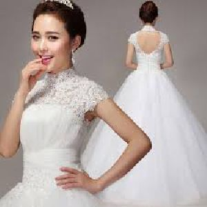 Ladies Wedding Gown Stitching Services
