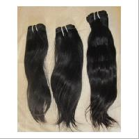 machine weft human hairs