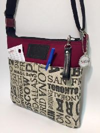 Original Sling Bag In Destinations Fabric