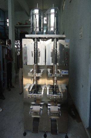500l Double Head Fully Automatic Pouch Packing Machine