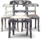 Bone Inlay Chairs