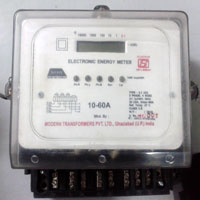 Three Phase Electronic Energy Meter