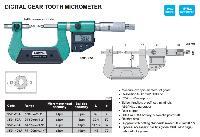Insize Digital Gear Tooth Micrometer