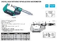 Insize Digital Non Rotating Spindle Disk Micrometer