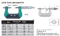 Insize Gear Tooth Micrometer