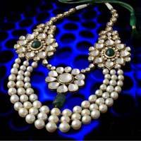 Polki & Pearl Necklace