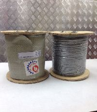 Galvanised Wire Rope With Wooden Reel