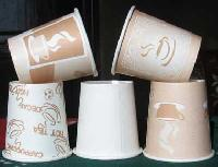 Poly Coated Paper Tea Cups