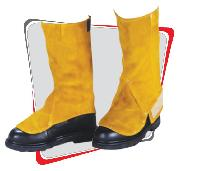 Split Leather Leg Guards